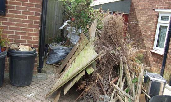 House Clearance Garden Rubbish Ready To Go
